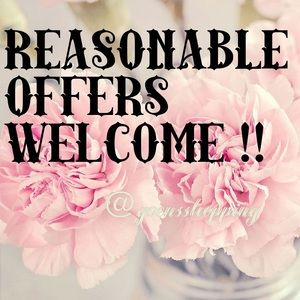 REASONABLE OFFERS WELCOME!!! 30% OFF BUNDLES